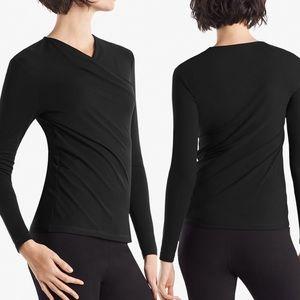 NWT MM Lafleur Octavia Top Black Size Medium